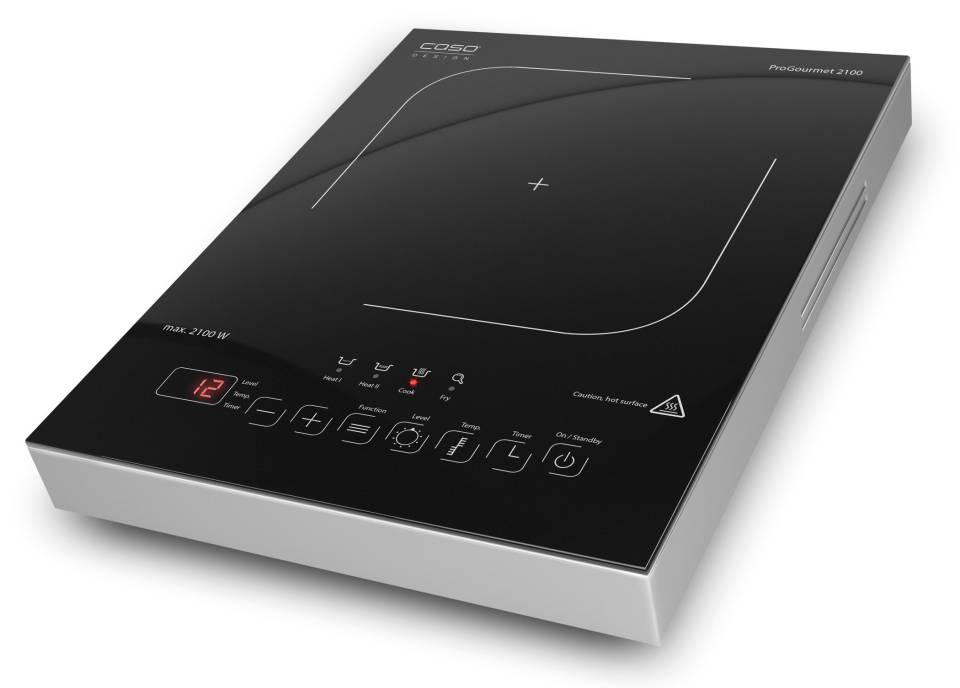 Caso Induktionskochfeld ProGourmet 2100 mit Sensor Touch Display.