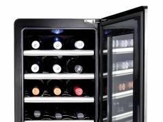 Caso Weinkühlschrank WineCase Red 12 für Rotwein.