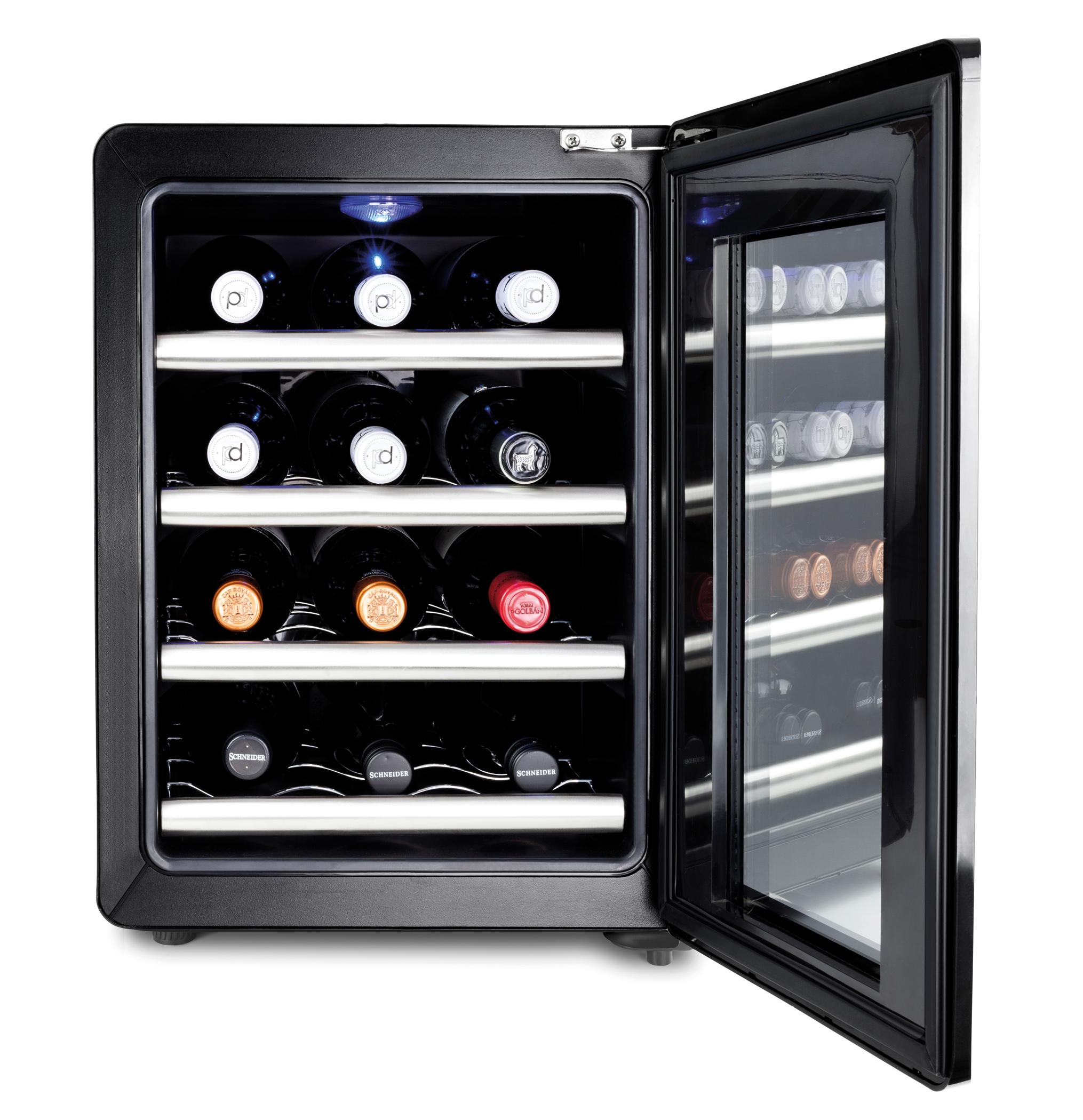 Caso Weinkühlschrank WineCase Red 12