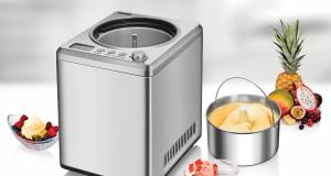 Unold Eismaschine Profi Plus mit 2.5 Liter Volumen.