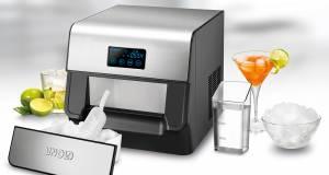 Unold Eiswürfelbereiter Edel bereitet bis zu 60 Eiswürfel in einer Stunde.