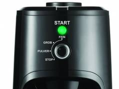 Unold Kaffeemaschine Mühle Kompakt ist geeignet für Filterkaffee und Kaffeebohnen.