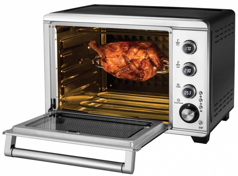 Unold Ofen Electronic mit 36 Liter Volumen.