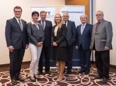 Der neue BVT-Vorstand (v.l.n.r.): Frank Schipper, Claudia Runte, Rainer T. Schorcht, Carina Brederlow, Willi Klöcker, Walter Kolbeck und Steffen Wolf.