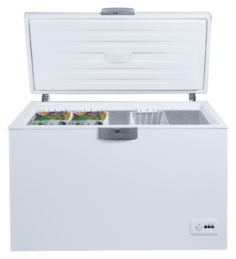 Beko Gefriertruhe HSA 47530 mit Temperaturregelungssystem AETCS.