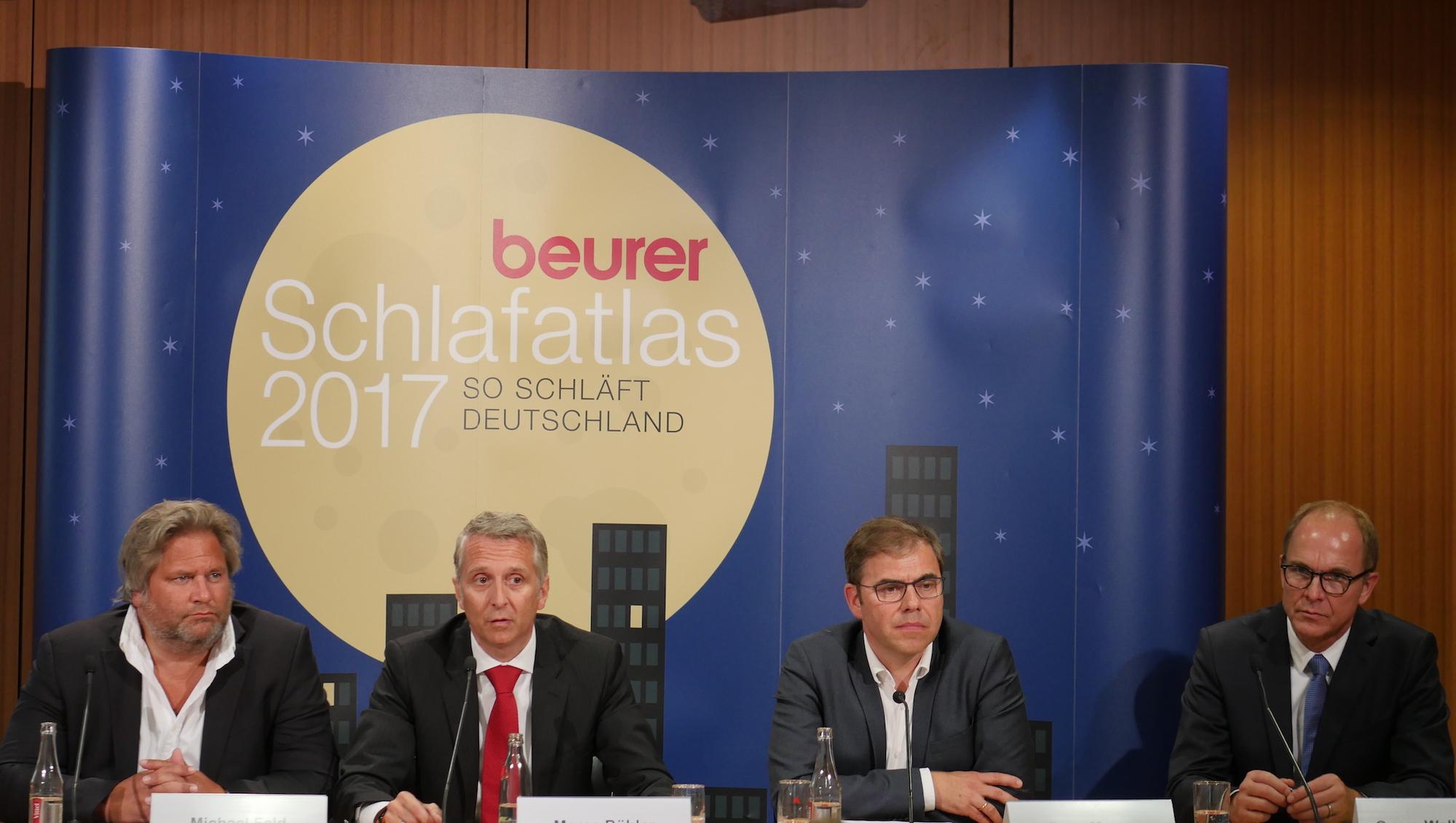 Der Beurer Schlafatlas 2017 Geht Der Frage Nach Wie Gut Schläft