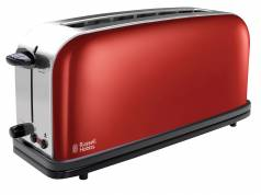 Russell Hobbs Colours Plus+ Langschlitz-Toaster mit 6 Bräunungsstufen.