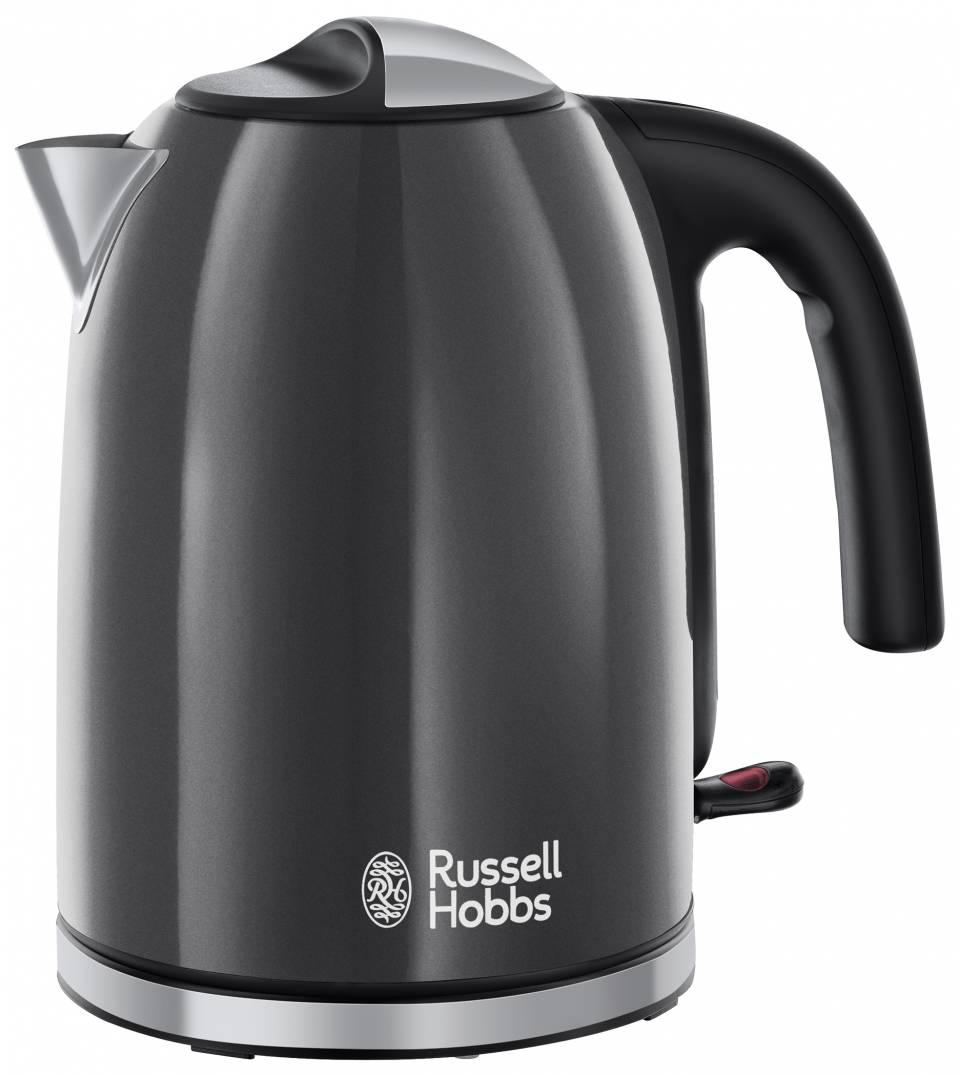 Russell Hobbs Colours Plus+ Wasserkocher mit Perfect-Pour-Ausgusstülle.