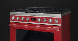 Smeg Kochzentrum Portofino mit 5 Garebenen.