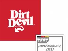 Dirt Devil bekommt eine Auszeichnung in Silber als Kundenliebling bei Focus Money.