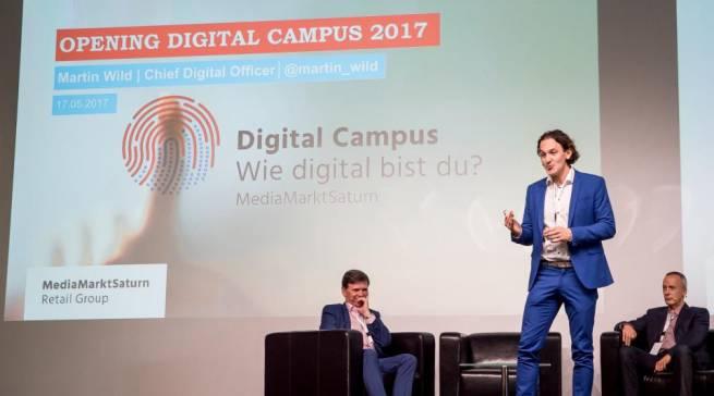 Mehr wissen als der Kunde: Auf dem Digital Campus der MediaMarktSaturn Retail Group erhält das Verkaufspersonal das notwendige Expertenrüstzeug.