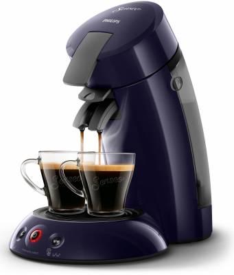 Die Philips Kaffeemaschine Senseo Original HD6554//40 in Dunkelblau