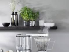 Testsieger und wirklich einmal ein echter Hingucker in der Küche: WMF Aroma Master Kaffeemaschine.