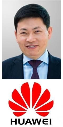 Visionär auf der Keynot-Bühne: Richard Yu von Huawei.