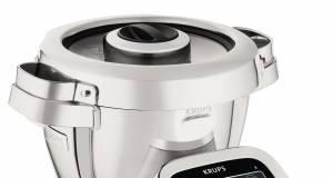 Krups Küchenmaschine i-Prep&Cook Gourmet mit Step-by-Step-Anleitung.