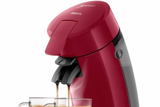 Kaffeemaschine Senseo Original HD6554/90 in Rot