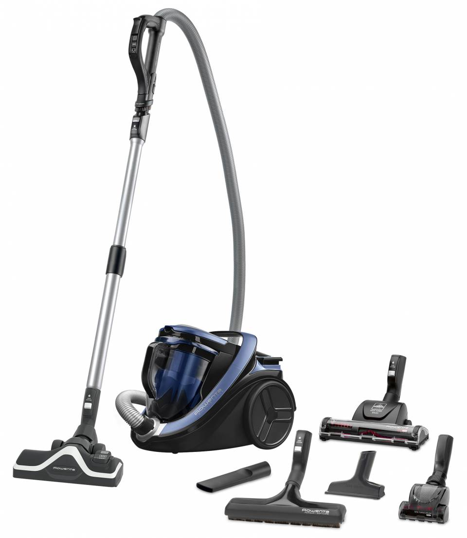 Rowenta Staubsauger Silence Force Cyclonic 4A mit Rohr-Schlauch-System Ergo Comfort Silence.