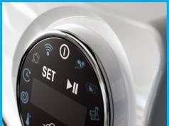 """Der breite Soft-Touch-Knopf """"SmartRing"""" der Waschmaschine Bianca verspricht einfachste Bedienung."""