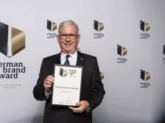 """Stengel SteelConcept wurde Ende Juni mit dem """"german brand award 2017"""" ausgezeichnet. Mit Stolz nahm Bernd Neumann die Auszeichnung entgegen."""