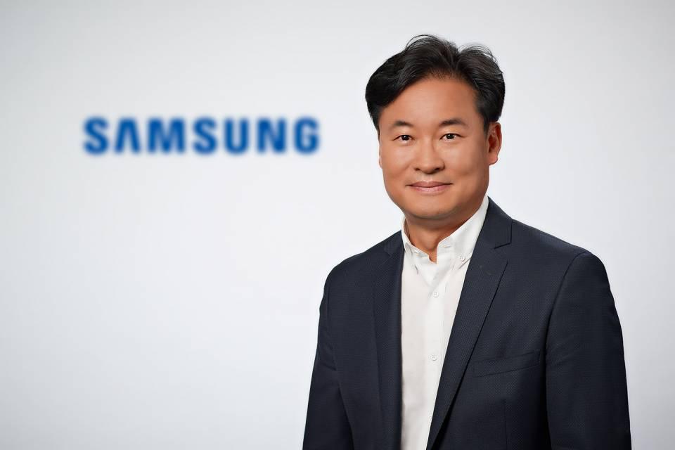 Neuer Geschäftsführer bei Samsung in Schwalbach: Il-Kyung Simon Sung.
