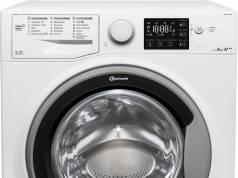 Bauknecht Waschmaschine BK 1000 WM Sense 8G42PS mit EcoTech Mengenautomatik.