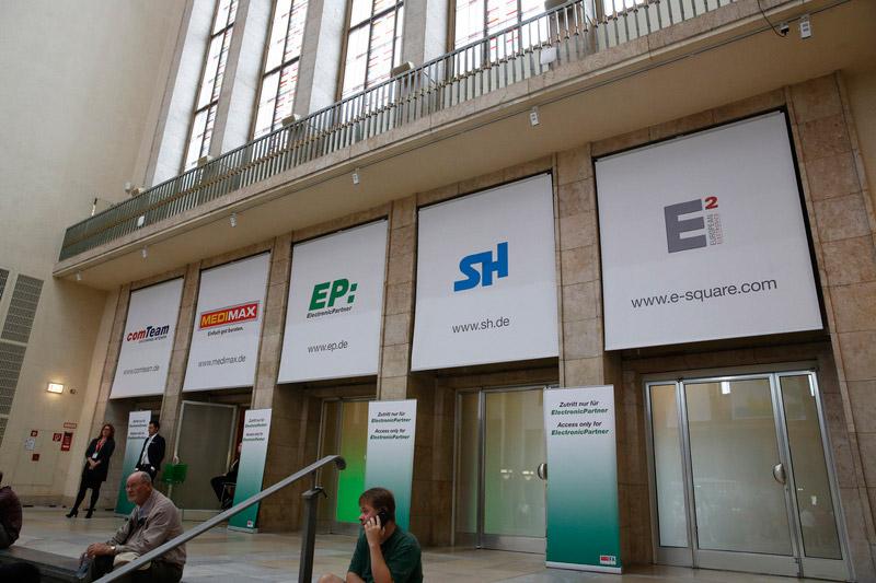 Im Palais unter dem Funkturm stehen bei ElectronicPartner Themenwelten im besonderen Fokus. Foto: Dirk Hasskarl
