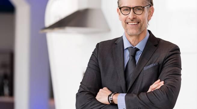 """""""Wir verkaufen Emotionen!"""", Brian Fogh, Geschäftsführer der Electrolux Hausgeräte GmbH."""