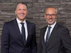 Steffen Nagel (l.) ist seit dem 1. Mai 2014 Geschäftsführer Ressort Vertrieb (global) bei Liebherr-Hausgeräte, Roman Schäfer seit dem 1. Juli 2017 Geschäftsführer Vertrieb Deutschland.