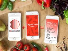 Kochfreude per App mit KptnCook und Rommelsbacher.
