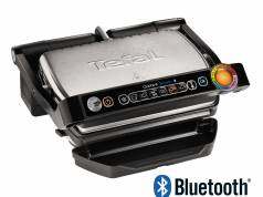 Tefal Kontaktgrill OptiGrill Smart mit Bluetooth-Funktion.