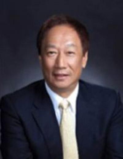 Leider erst in 2018 zu hören: Terry Gou, Gründer und Chairman von Foxconn.