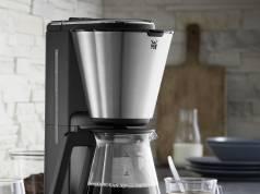 WMF KÜCHENminis Aroma Kaffeemaschine Glas mit Aromaglaskanne.