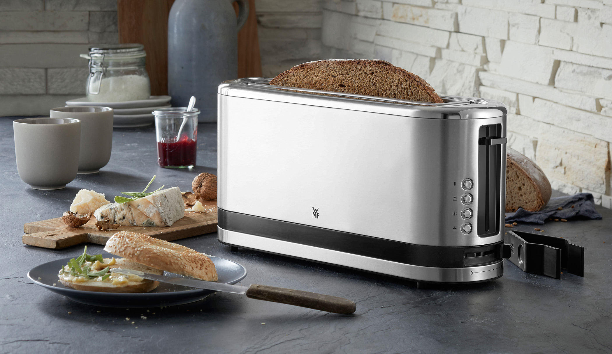 wmf k chenminis langschlitz toaster. Black Bedroom Furniture Sets. Home Design Ideas