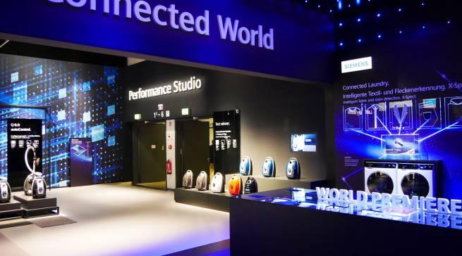 Urbanes, vernetztes Leben präsentiert Siemens in seiner Concept Mall.