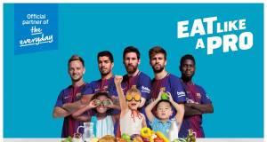 """Beko und Barca gehen voran: """"Eat Like a Pro"""" – gesundes Essen für Kinder."""
