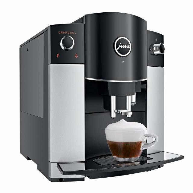 Der JURA Kaffeevollautomat D6