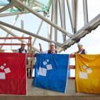 Richtfest in Frankfurt für die neue Messehalle 12.