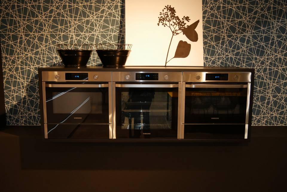 Samsung ist bei Nolte exklusiv in der Einbauküche angekommen.