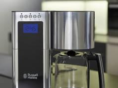 Russell Hobbs Kaffeemaschine Elegance 23370-56 mit Selbstreinigungsfunktion.