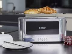 Russell Hobbs Langschlitz-Toaster Elegance 23380-56 mit Schnell-Toast-Technologie.