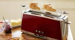 Russell Hobbs Langschlitz-Toaster Luna Solar Red 23250-56 mit 6 Bräunungsstufen.