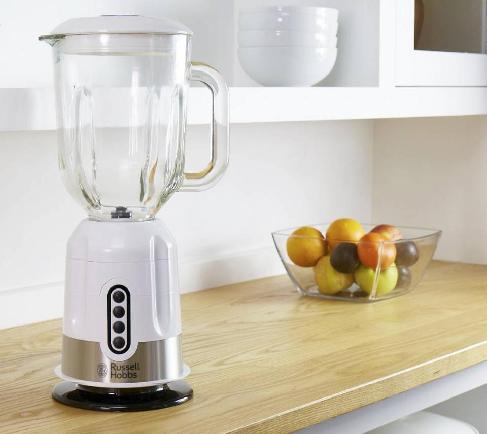 Russell Hobbs Standmixer EasyPrep 22990-56 mit Impuls-/Ice-Crush-Funktion.