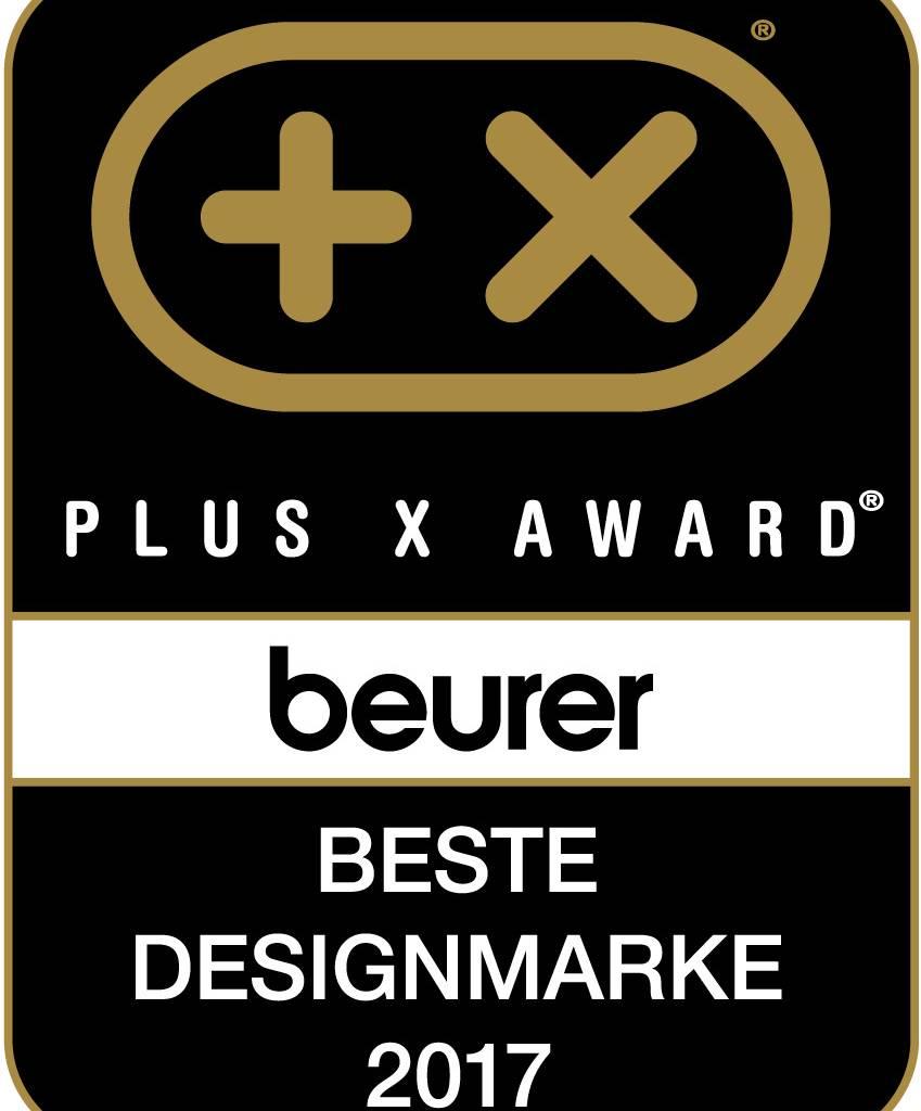 Plus X Award Beurer Beste Designmarke 2017