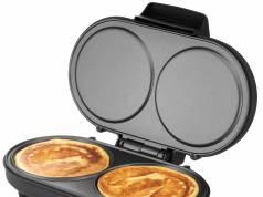 Unold Pancake-Maker American mit Druckguss-Aluminiumplatten.