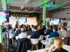 """Für die Teilnehmer der Connected Kitchen Conference 2017 in Hamburg ist die Küche das neue """"Plenum""""."""