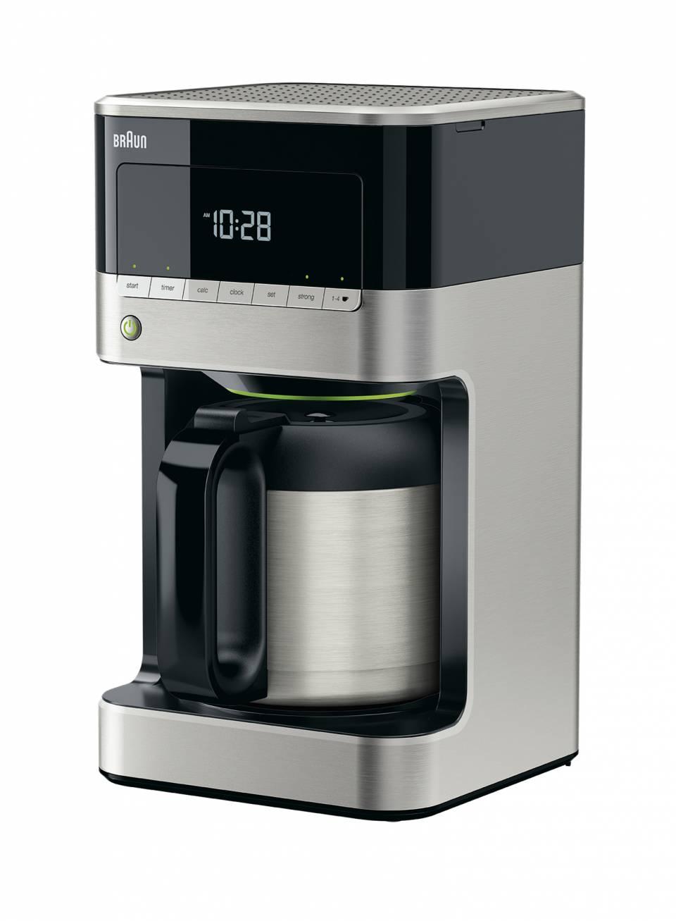 Die Braun Kaffeemaschine KF 7125 PurAroma 7
