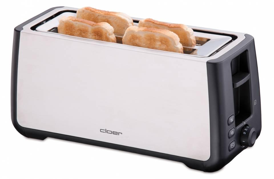 Cloer Toaster King Size für American Toasts.