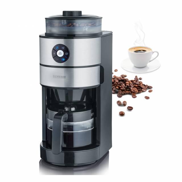 Die Severin Kaffeemaschine KA 4811-Mit integriertem Mahlwerk