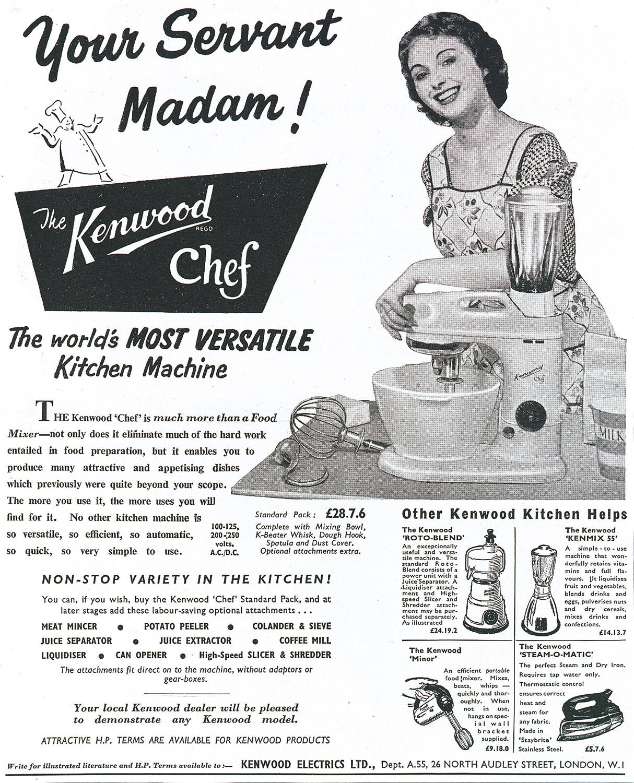 Runder Geburtstag: Seit 70 Jahren ist Kenwood ein verlässlicher Partner in der Küche.