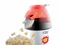 Russell Hobbs Popcornmaschine Fiesta 24630-56 arbeitet mit Heißluft.